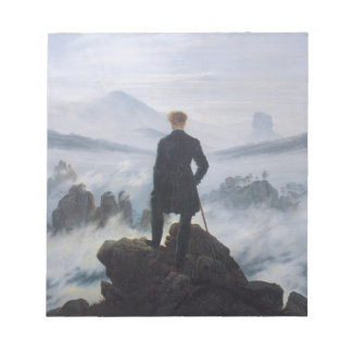 Wanderer above the Sea of Fog Notepads
