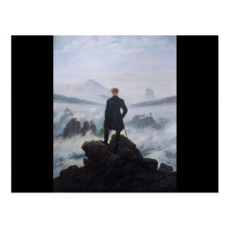 Wanderer above the Sea of Fog Postcard
