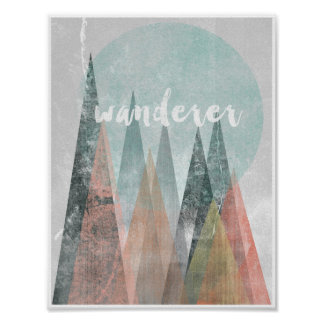 Wanderer Moutains print