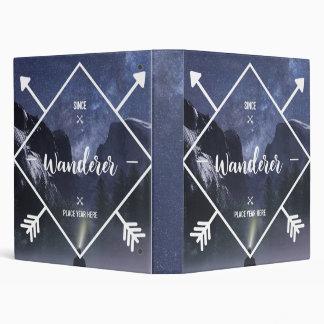 Wanderer Since 3 Ring Binder