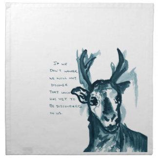 Wandering Deer Napkin