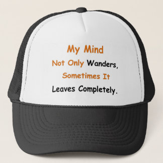 Wandering mind trucker hat