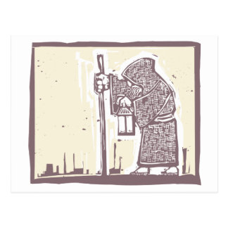 Wandering Monk Postcard
