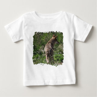 Wandering Red Wolf Baby T-Shirt