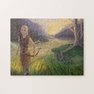 Wandering the Land Jigsaw Puzzle