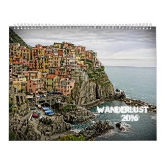 Wanderlust 2016 Calendar