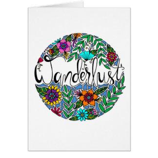 Wanderlust Card