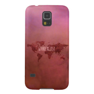 Wanderlust Colorful Vintage World Map Cases For Galaxy S5
