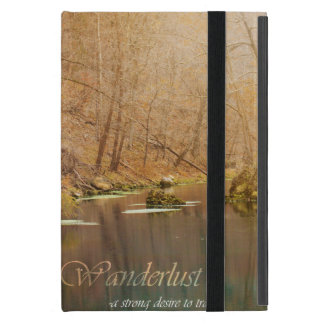 Wanderlust Ipad mini Case