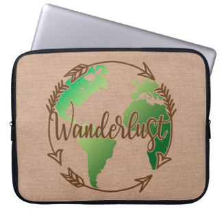 Wanderlust Laptop Cover