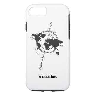 Wanderlust Map Case-Mate iPhone Case