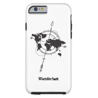 Wanderlust Map Tough iPhone 6 Case