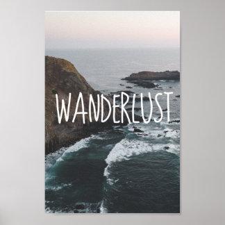 Wanderlust | Ocean Scenery Poster