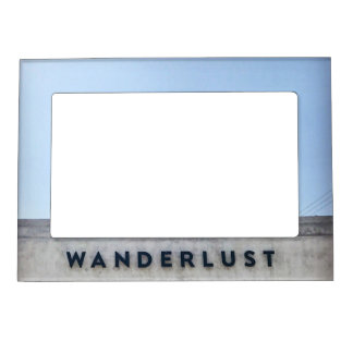 Wanderlust Picture Frame