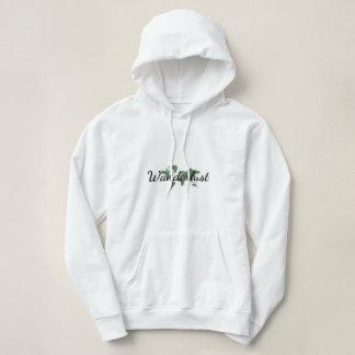 Wanderlust pullover hoodie
