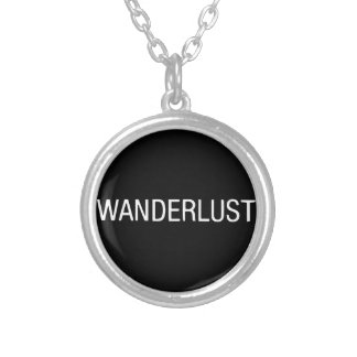 WANDERLUST SILVER PLATED NECKLACE