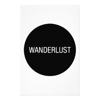 WANDERLUST STATIONERY