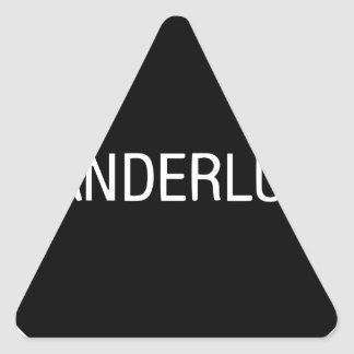 WANDERLUST TRIANGLE STICKER