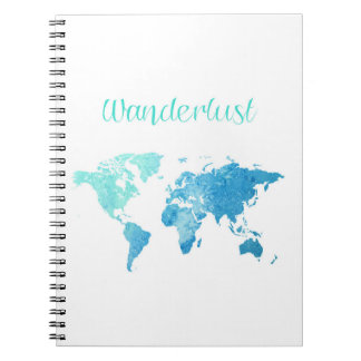 Wanderlust Watercolor Notebook