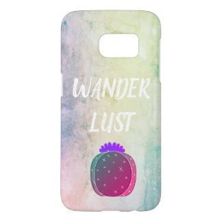 Wanderlust Watercolor Samsung Phone Case