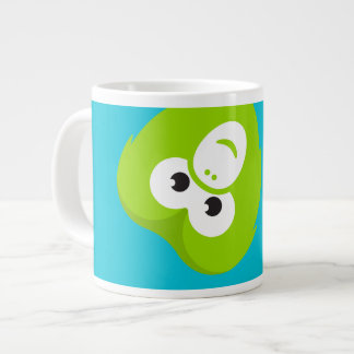 Wanderu Mug: Upside down Chiku Large Coffee Mug