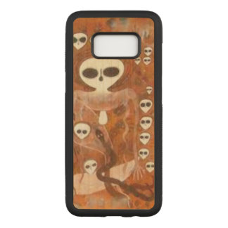 Wandjinas Carved Samsung Galaxy S8 Case