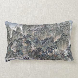 Wang Hui Ji'nan to Mount Tai Lumbar Pillow