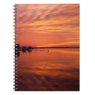 Waning West Spiral Notebooks