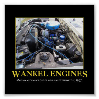 Wankel Engines Poster