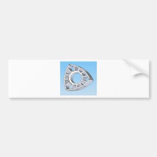 Wankel Rotor Bumper Sticker