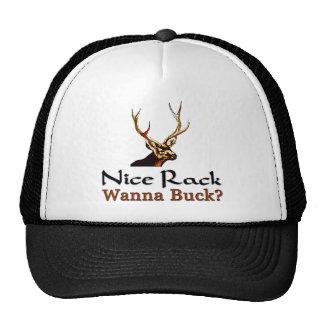 Wanna Buck? Trucker Hat