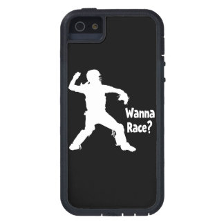 Wanna Race, white.png iPhone 5 Covers