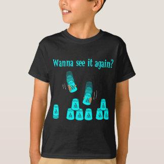 Wanna See It Again? lt blue T-Shirt