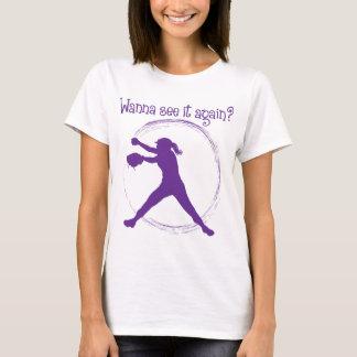Wanna See It Again, purple T-Shirt