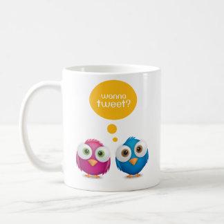 Wanna Tweet mug