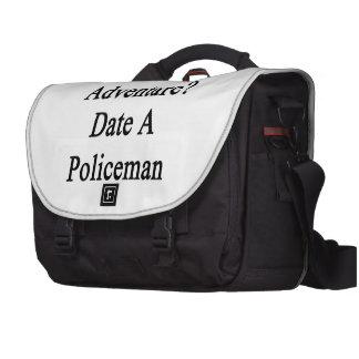 Want Adventure Date A Policeman Laptop Computer Bag