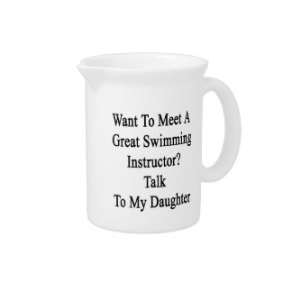 Want To Meet A Great Swimming Instructor Talk To M Beverage Pitchers