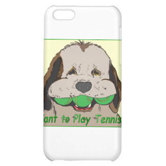 Want to play tennis? case for iPhone 5C