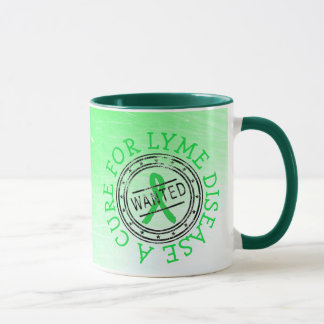 Wanted: A Cure for Lyme Disease Coffee Mug