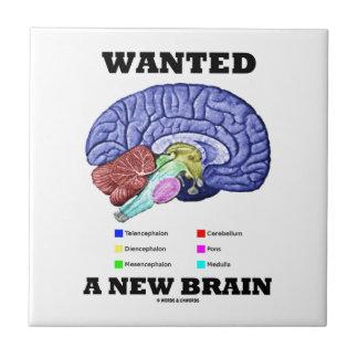 Wanted A New Brain (Anatomical Brain Attitude) Tile