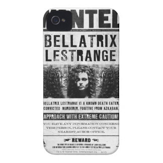 Wanted Bellatriz Lestrange iPhone 4 Case-Mate Case