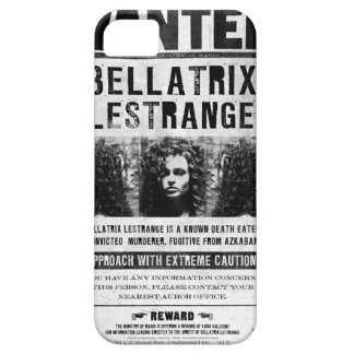 Wanted Bellatriz Lestrange iPhone 5 Cases