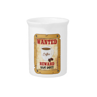 Wanted Coffee Pitcher
