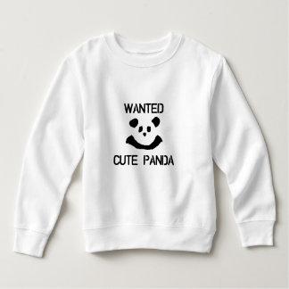 WANTED Cute Panda Sweatshirt