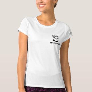 WANTED Cute Panda T-shirt