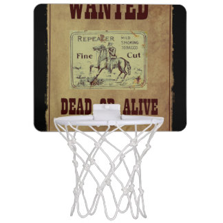 Wanted Dead or Alive Mini Basketball Hoop