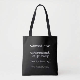 Wanted for Tote Bag