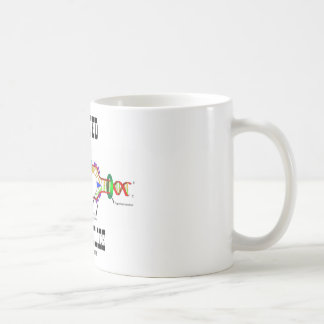 Wanted Gene Police (DNA Replication Humor) Coffee Mug
