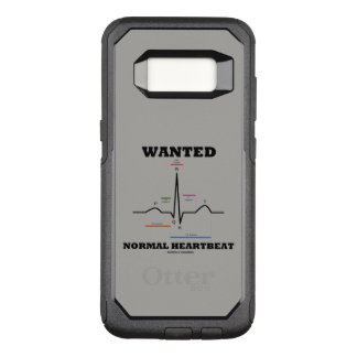 Wanted Normal Heartbeat ECG Electrocardiogram OtterBox Commuter Samsung Galaxy S8 Case