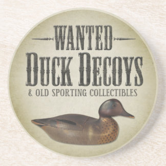 WANTED: Old Duck Decoys Coasters